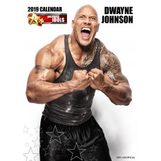 2019 A3 DWAYNE JOHNSON CALENDAR