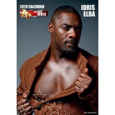 2019 A3 IDRIS ELBA CALENDER BY 365