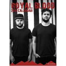 2019 A3 ROYAL BLOOD CALENDER
