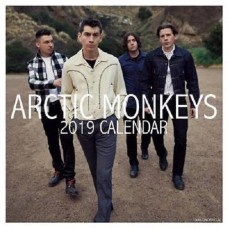 2019 ARCTIC MONKEYS SQUARE CALENDER