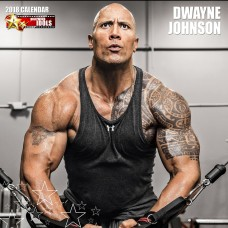 2018 DWAYNE JOHNSON CALENDAR