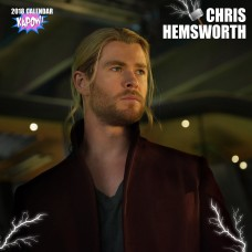 2018 CHRIS HEMSWORTH CALENDAR