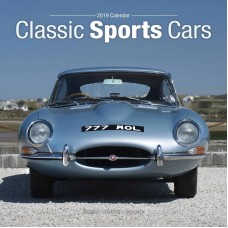 2019 CLASSIC SPORTS CARS CALENDAR, BY AVONSIDE