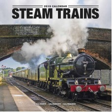 2019 STEAM TRAINS CALENDAR, BY AVONSIDE