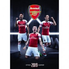 2019 A3 OFFICIAL ARSENAL FC CALENDAR