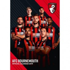 2019 A3 OFFICIAL AFC BOURNEMOUTH CALENDAR