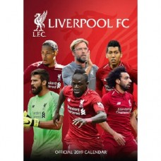 2019 A3 OFFICIAL LIVERPOOL FC CALENDAR