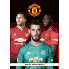 2019 A3 OFFICIAL MANCHESTER UNITED CALENDAR