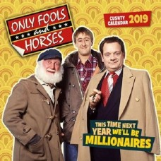 2019 OFFICIAL ONLY FOOLS AND HORSES SQUARE CALENDAR