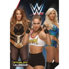 2019 A3 OFFICIAL WORLD WRESTLING WOMEN CALENDAR