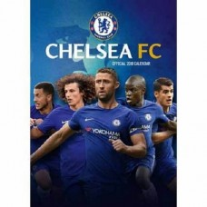 2018 A3 OFFICIAL LICENSED CHELSEA FC CALENDAR