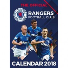 2018 A3 OFFICIAL LICENSED GLASGOW RANGERS FC CALENDAR
