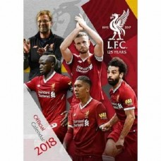 2018 A3 OFFICIAL LICENSED LIVERPOOL FC CALENDAR