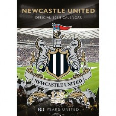 2018 A3 OFFICIAL LICENSED NEWCASTLE UNITED FC CALENDAR