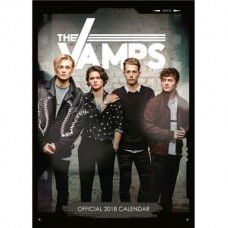 2018 A3 OFFICIAL LICENSED THE VAMPS CALENDAR