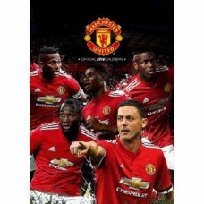 2018 A3 OFFICIAL LICENSED MANCHESTER UNITED FC CALENDAR