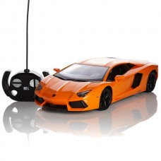 OFFICIAL RC RADIO REMOTE CONTROLLED CAR SCALE 1.24 - LAMBORGHINI AVENTADOR
