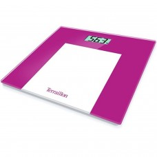 TERRAILLON BATHROOM SCALES PINK MAXIMUM WEIGHT 150KG