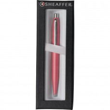 QUALITY SHEAFFER VFM GLOWING CORAL BALLPOINT PEN NEW & BOXED