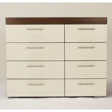 BROOKLYN 8 DRAWER CHEST WHITE