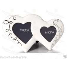 "MIKASA LOVE STORY 11 1/2"" PORCELAIN PHOTO FRAME"