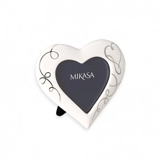 "MIKASA LOVE STORY 6 1/2"" PORCELAIN PHOTO FRAME"