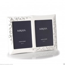 MIKASA LOVE STORY 5 x 7 PORCELAIN PHOTO FRAME