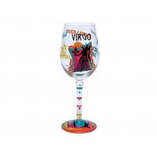 LOLITA VIRGO ZODIAC WINE GLASS