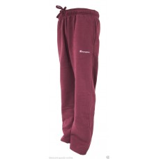CHAMPION MAROON FLEECE JOG PANTS