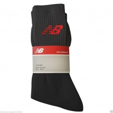 NEW BALANCE 3 PACK BLACK SPORTS SOCKS