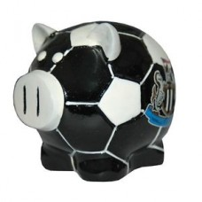 NEWCASTLE UNITED BALL BASE PIGGY BANK