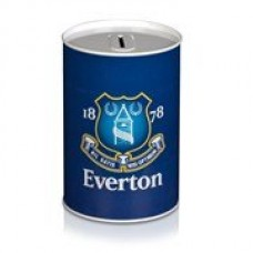 EVERTON TIN MONEY BOX