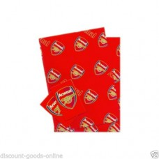 ARSENAL WRAPPING PAPER & GIFT TAGS