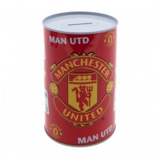 MANCHESTER UNITED TIN MONEY BOX