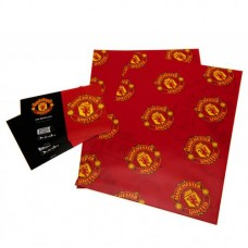 MANCHESTER UNITED WRAPPING PAPER & GIFT TAGS