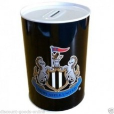 NEWCASTLE UNITED TIN MONEY BOX