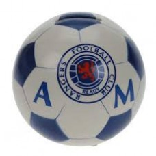 RANGERS BALL SHAPED MONEY BOX