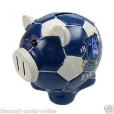 EVERTON BALL BASE PIGGY BANK