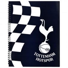 OFFICIAL LICENSED FOOTBALL CLUB TOTTENHAM HOTSPUR A4 NOTE BOOK