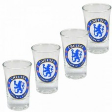 4 PACK CHELSEA SHOT GLASSES