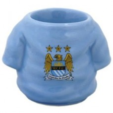 MANCHESTER CITY SHIRT EGG CUP