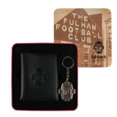FULHAM WALLET & KEYRING TIN SET