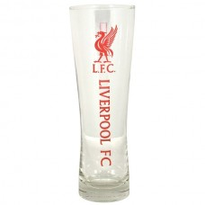 LIVERPOOL WORDMARK CREST PERONI PINT GLASS