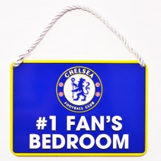 CHELSEA NO 1 FAN HOME BEDROOM SIGN PLAQUE DOOR