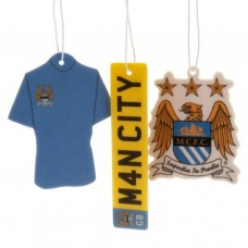 MANCHESTER CITY 3 PACK AIR FRESHENER
