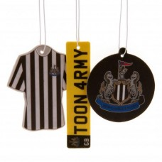 NEWCASTLE UNITED 3 PACK AIR FRESHENER