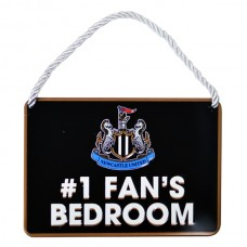 NEWCASTLE UNITED NO 1 FAN HOME BEDROOM SIGN PLAQUE DOOR