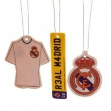 REAL MADRID 3 PACK AIR FRESHENER