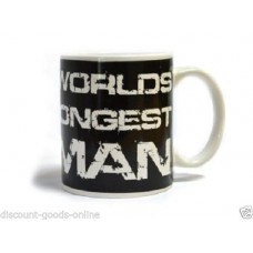 THE WORLDS STRONGEST MAN 11OZ MUG