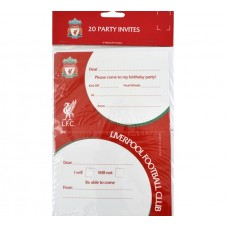LIVERPOOL FC PARTY INVITES
